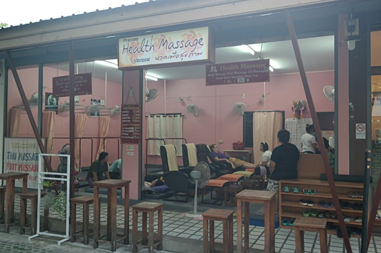 massage chiang mai thailand travel spa