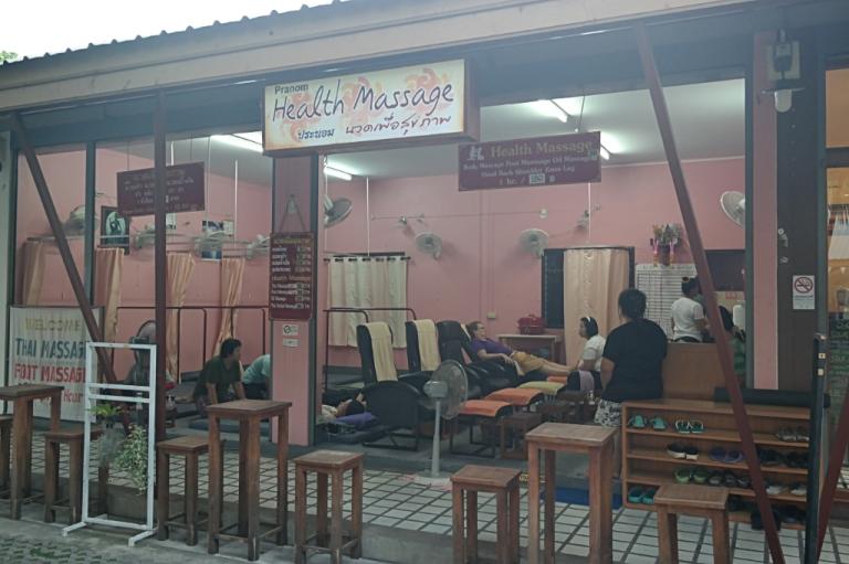 massage chiang mai thailand travel spa