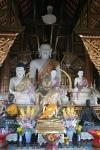 buddha statues temple Chiang Mai Thailand travel