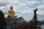 golden triangle thailand travel statue buddha