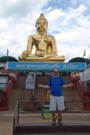 golden triangle thailand travel statue buddha matthew howe