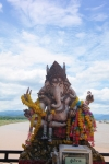 ganesh statue god golden triangle thailand