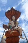 golden triangle thailand travel statue god