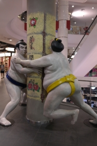 I also assume there are sumo wrestling matches on every street corner too...