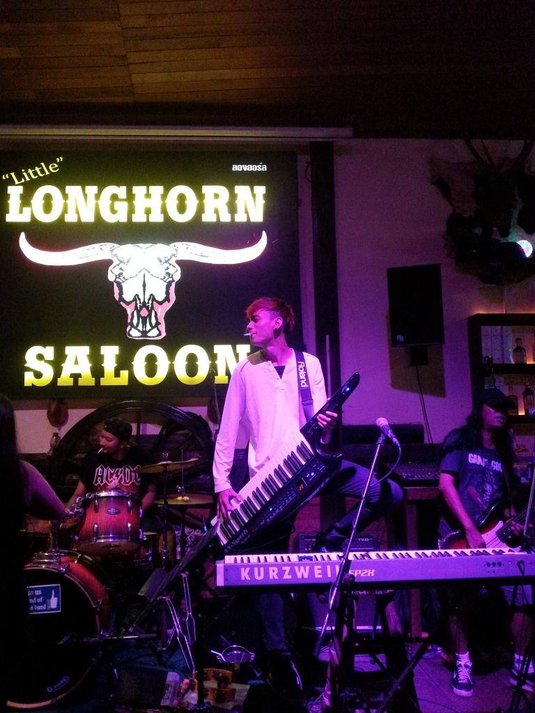 longhorn saloon ao nang krabi thailand bar travel