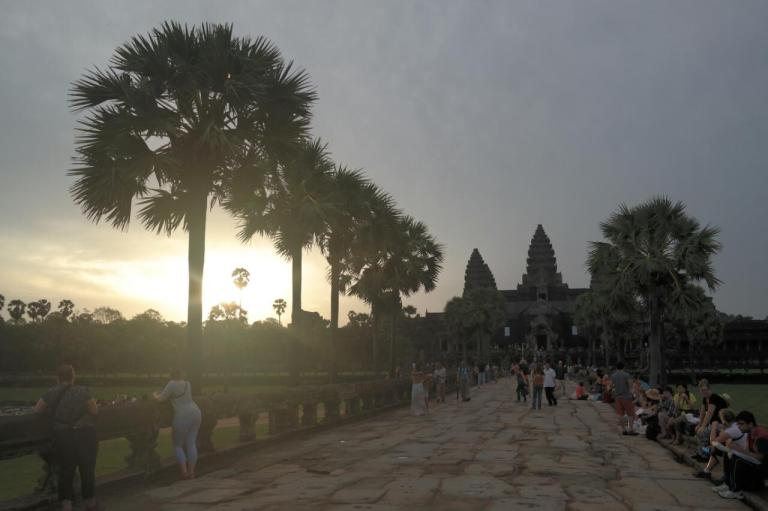 angkor wat temple siem reap  cambodia travel