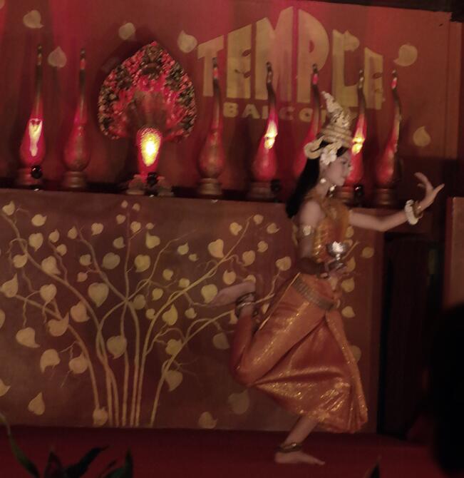 cambodian dance siem reap travel art