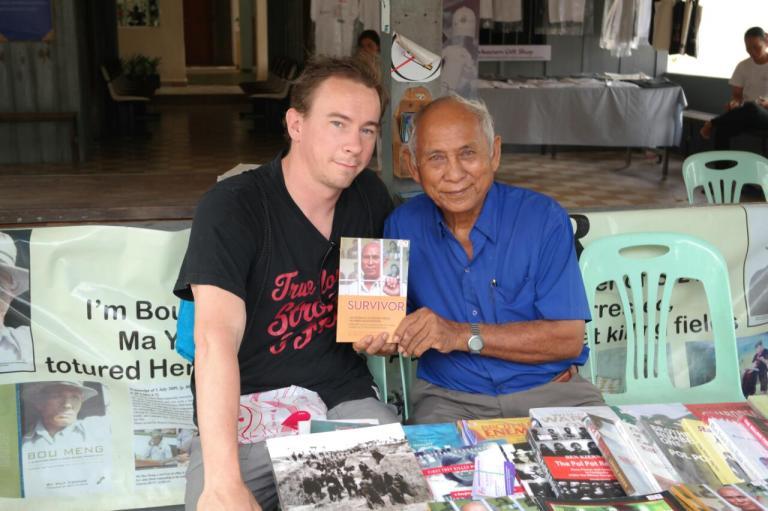 survivor genocide museum phnom penh cambodia