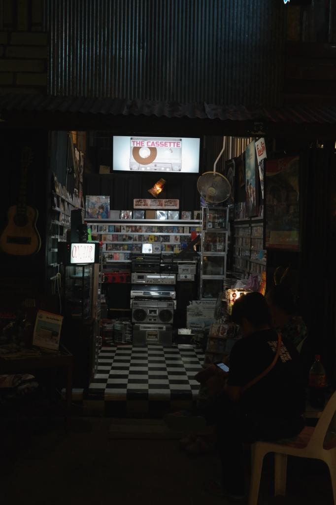 Siam Gypsy Junction hipster flea market bangkok thailand travel casettes