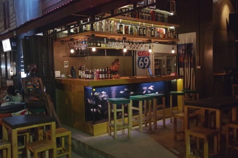 Siam Gypsy Junction hipster flea market bangkok thailand travel bar