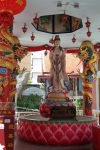 standing buddha temple bangkok thailand