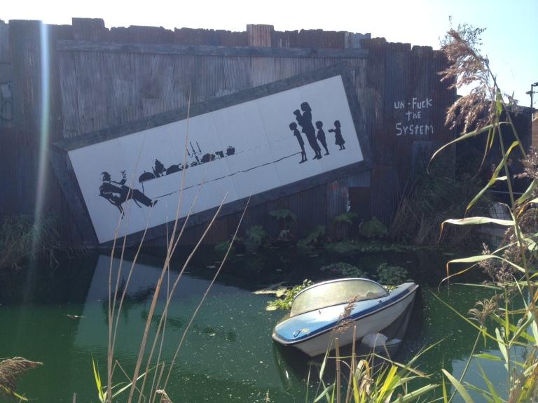 banky's dismaland bemusement park england art travel